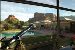 ベルロック近くのホテルからの眺め。お部屋もご飯も眺めも最高でした!