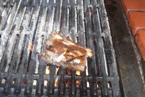 自分で焼くステーキ