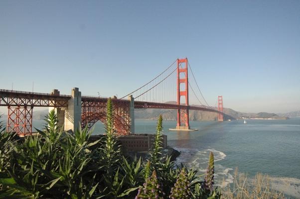 サンフランシスコ:ゴールデンゲートブリッジ