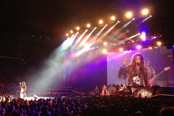 エアロスミスのライブに行ってきました!
